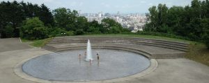 旭山記念公園の噴水へ水遊びに行こう!持ち物チェックし楽しく遊ぼう!
