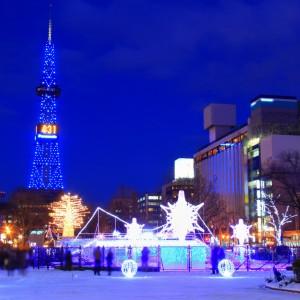 さっぽろホワイトイルミネーション2017 「日本三大」認定!点灯式や見どころは!