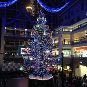 札幌ファクトリー ジャンボクリスマスツリー2017年の点灯式!イルミネーションを見に行こう