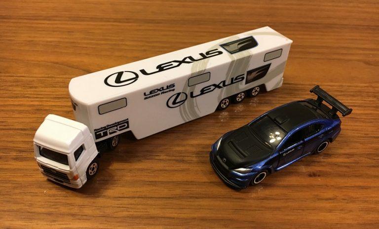トミカの新車2016年12月はトイザらスでレクサスのスペシャルセットをゲット!