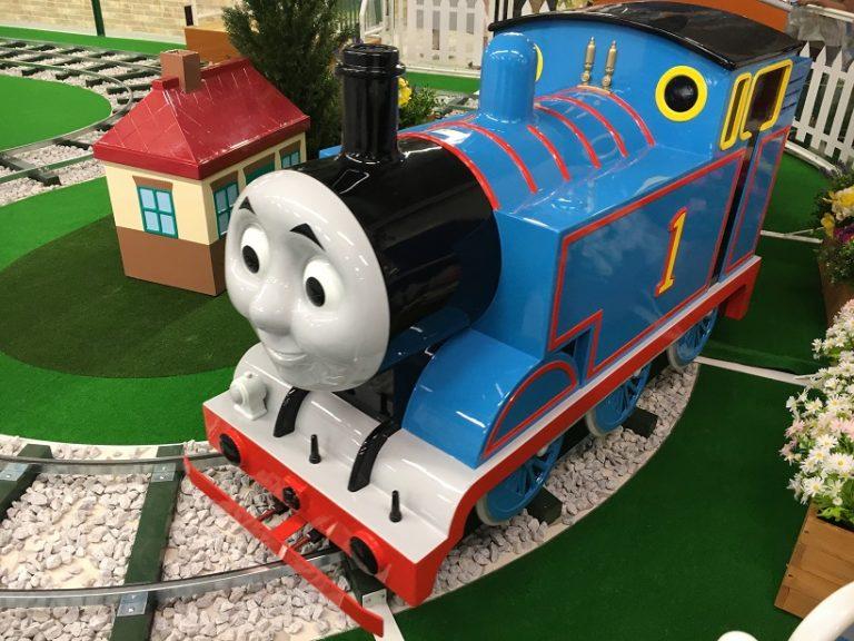 トーマスステーション札幌エスタに行ってきたよ!遊べる遊具や料金を紹介