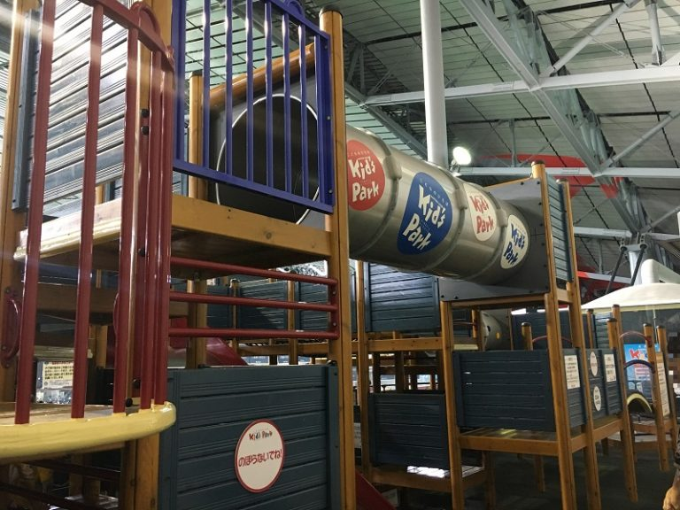 札幌ドーム 子供の遊び場キッズパークは無料開放!大型複合遊具で楽しむ!