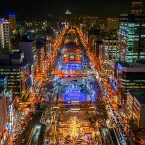 北海道イルミネーション特集!2017~2018 雪と光のコラボは幻想的