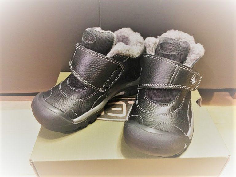 子供の冬靴にKEEN(キーン)のクートネーをチョイス!雪でもタウンでも大活躍!