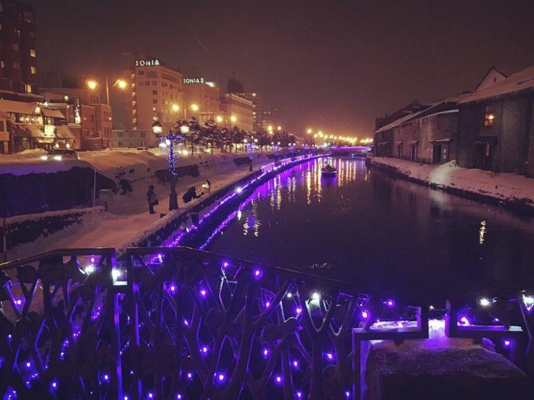 小樽ゆき物語の見どころ!青の運河はもちろん街全体がイルミネーションに包まれる