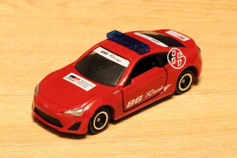 イオン限定トミカ第38弾!トヨタ86富士スピードウェイオフィシャルカー2018年5月