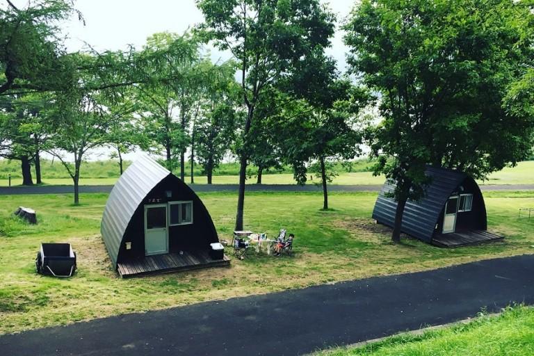 かなやま湖畔キャンプ場 バンガローでキャンプデビューしてきたぞ!