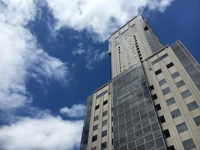 僕と息子の憩いの場「そらのひろばステラ9」札幌ステラプレイス屋上広場