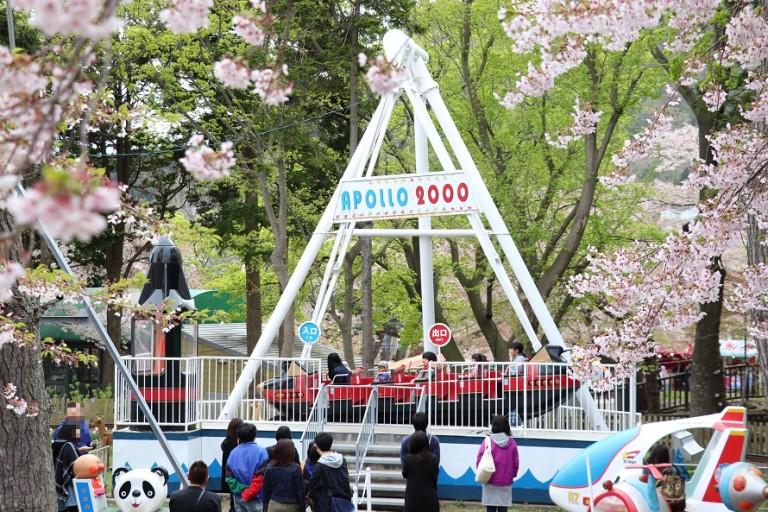函館公園「こどものくに」日本最古の観覧車や楽しい遊具が満載!家族連れ必見
