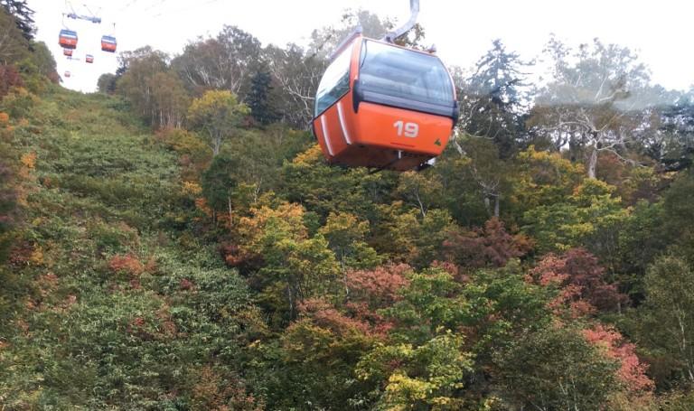 札幌国際スキー場 紅葉ゴンドラでパノラマ展望台へ!子供と遊べるイベントがうれしい
