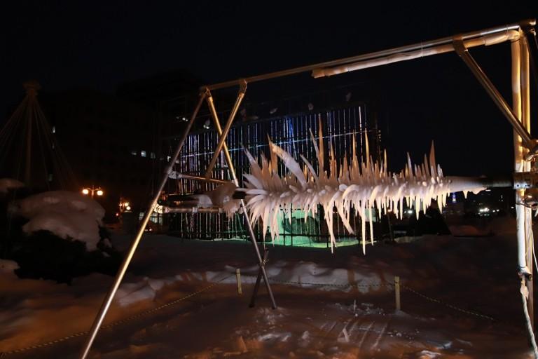 さっぽろ垂氷まつり札幌市資料館に不思議なつららを見に行こう!