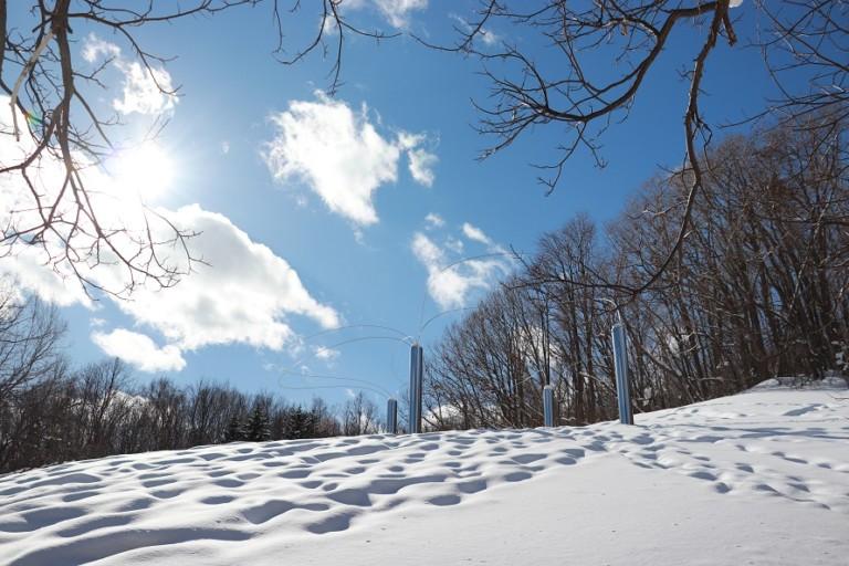芸森かんじきウォーク【札幌芸術の森】野外美術館のポイントラリーが楽しい!