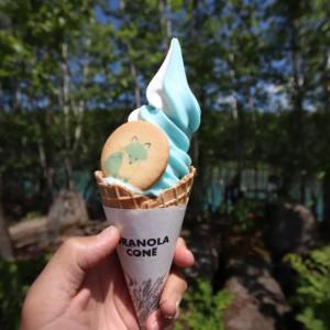 美瑛町「青い池」リニューアルされた駐車場や売店を紹介!ソフトクリームや展望台も誕生したよ!